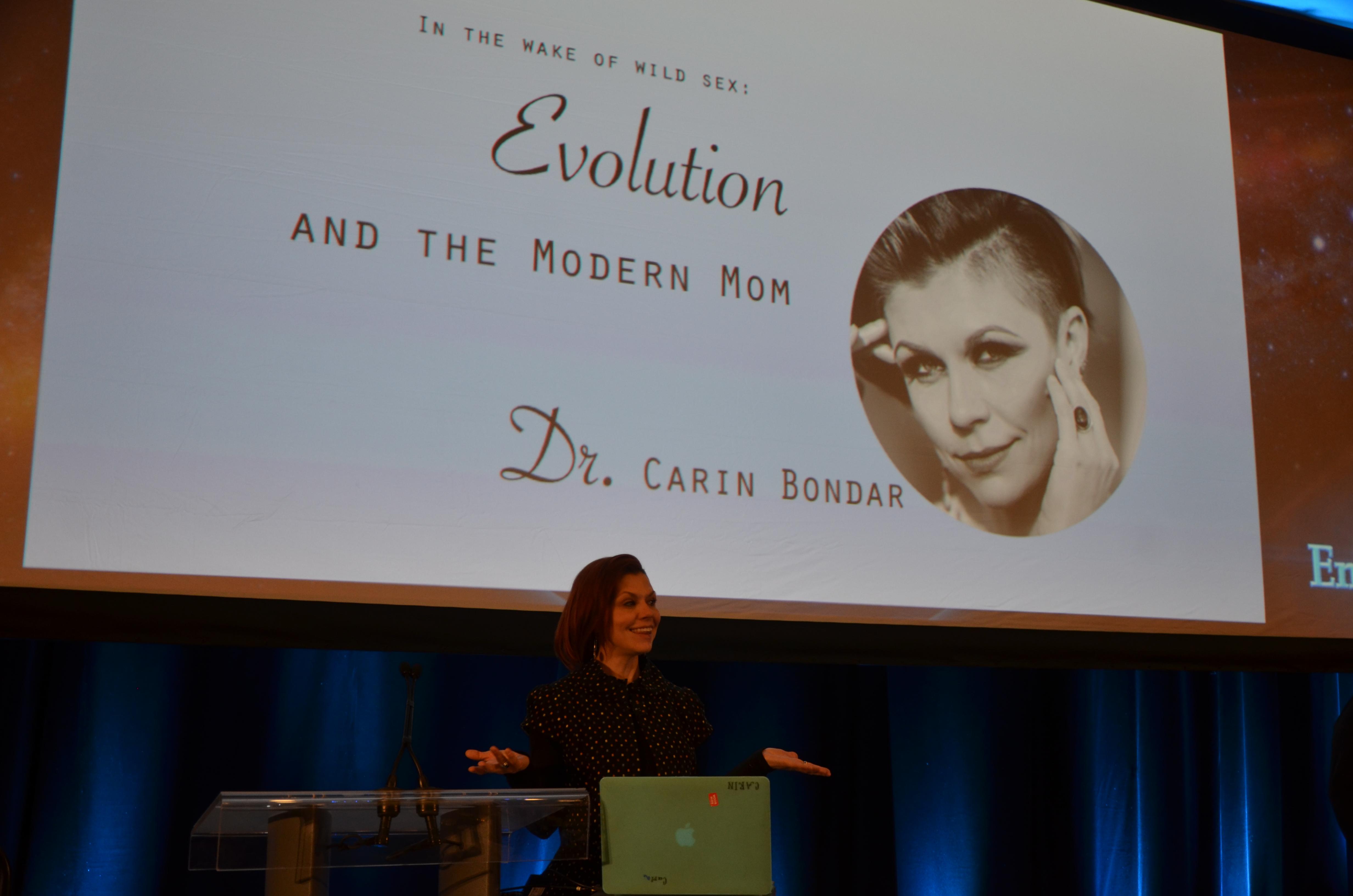 Dr Carin Bondar at EnviroTech